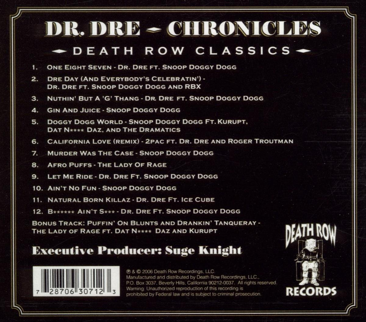 Chronicles Death Row Classics