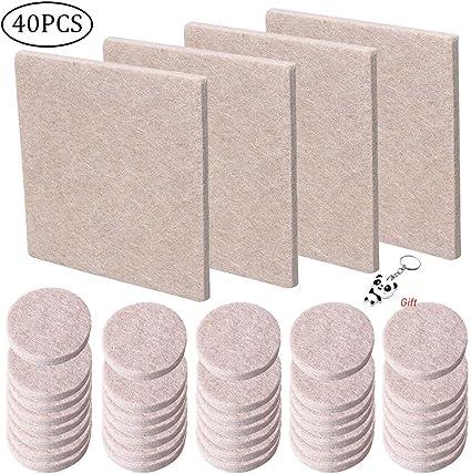 Yuanzi 40 cuscinetti in feltro per proteggere mobili