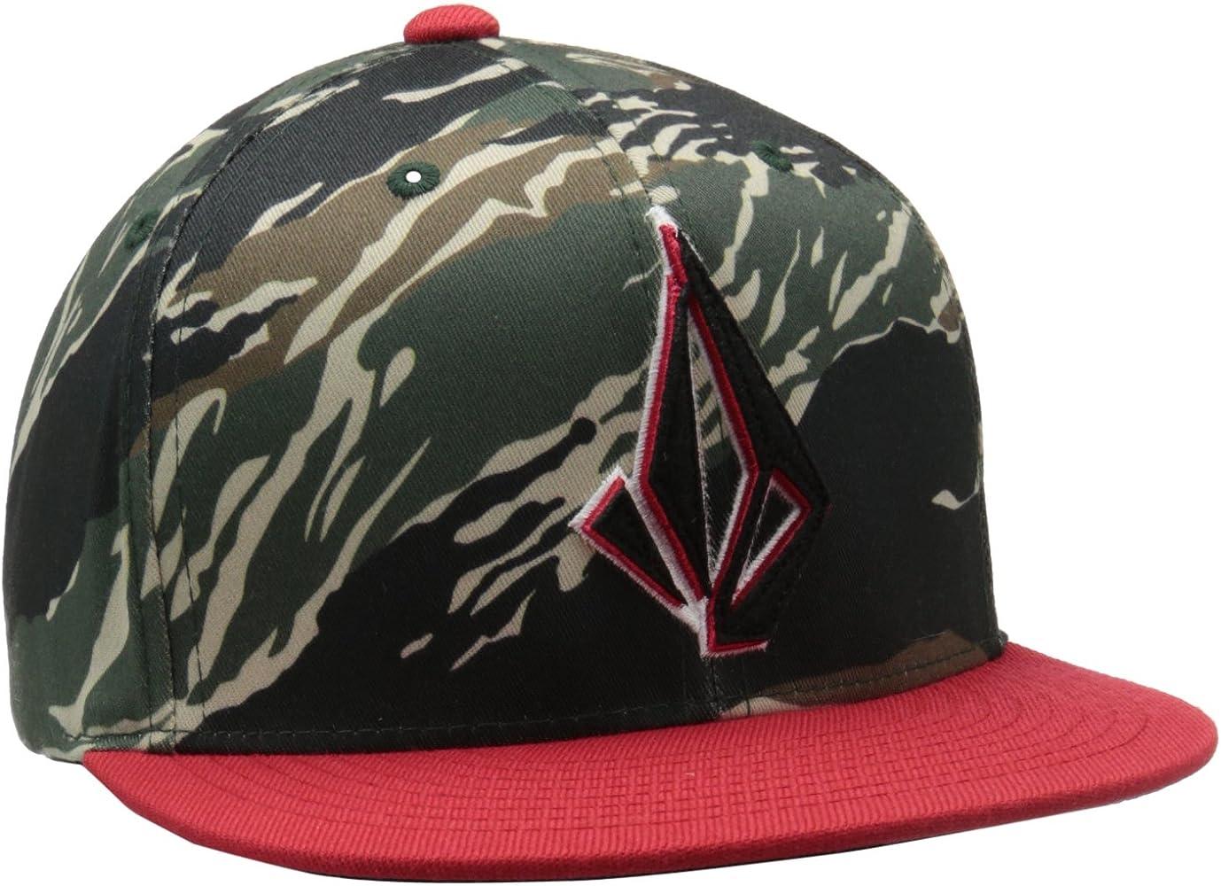Volcom Cap Layer J Fit Hat Gorra, Niños, Blood Red, Uni: Amazon.es ...