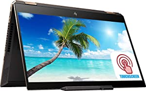 "Premium HP Spectre X360 15 15t 2-in-1 Laptop PC 15.6"" 4K UHD IPS Touchscreen 10th Gen Intel Core i7-10510U 32GB RAM 1TB SSD GeForce MX250 FP Reader RGB Backlit KB Thunderbolt Win 10 - HP Pen&Sleeve"