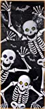 Halloween Skeleton Decoration Door Cover (30\  x ...  sc 1 st  Amazon.com & Amazon.com: Skeleton Door Cover - Halloween Wall Decoration: Toys ...