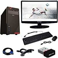 Rolltop 15.6-inches Assembled Desktop (Intel Core 2 DUO 2.9 GHZ/4GB RAM/500GB HDD) (Black)