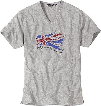 Ceceba - Camiseta para Hombre (Tallas S, M, L, XL, XXL, 3XL, 4XL, 6XL, 7XL, 8XL, 9XL, 10XL) Gris Claro 1 Mes: Amazon.es: Ropa y accesorios