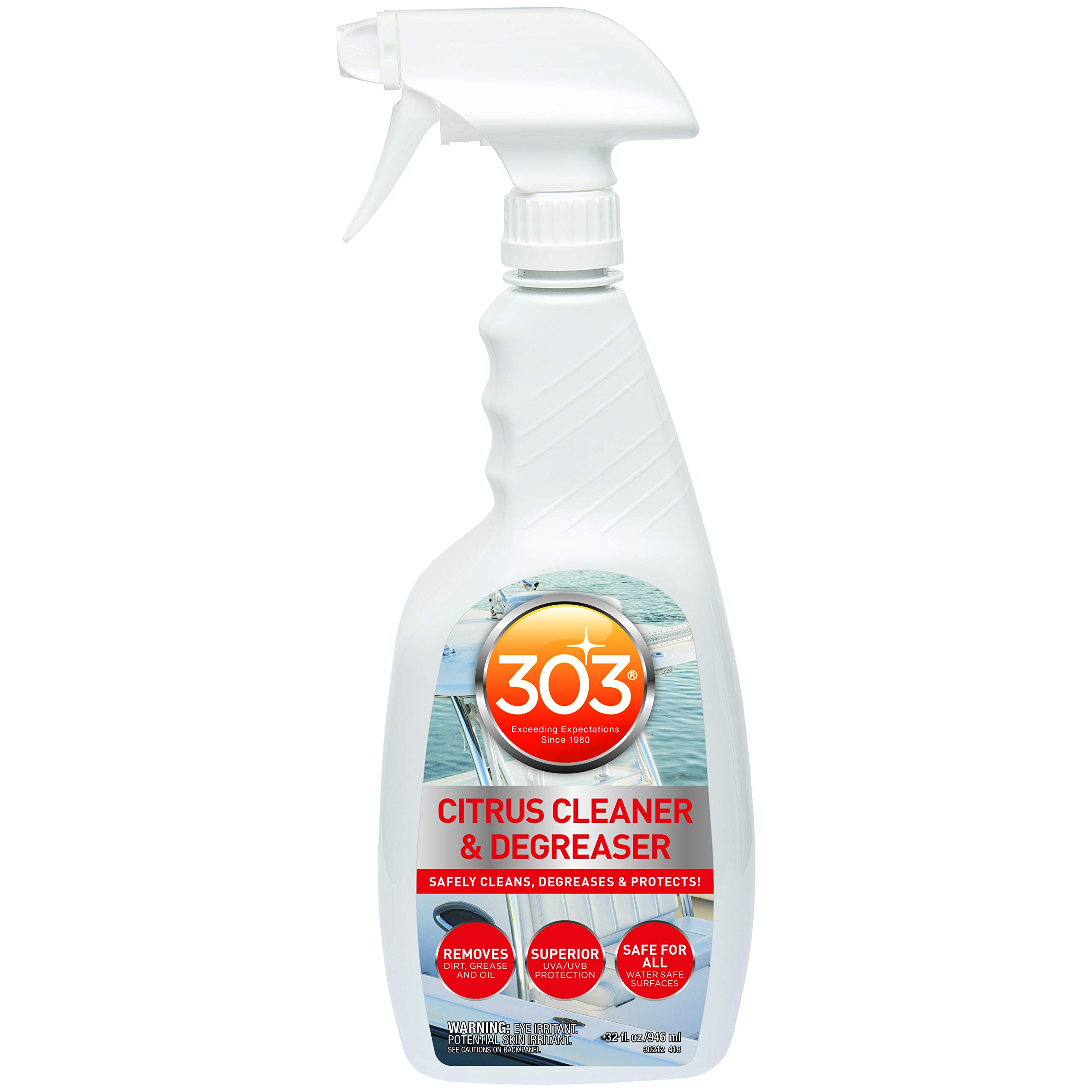 303 30212-6PK Citrus Cleaner and Degreaser - 32 fl. oz. (Pack of 6) by 303 Products
