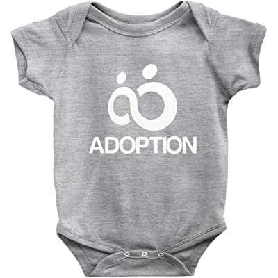 775222c3a AdoptionGifts.com Adoption Infinity Symbol Onesie | Adoption Gifts, Clothing  & Apparel