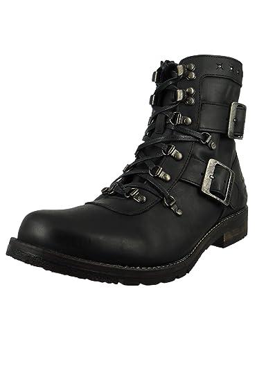 bd0931ff8f497e Harley Davidson Biker Boots D93066 Billings Leder Stiefel Schwarz Black