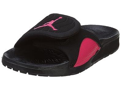 ee09b7a7d451 Nike Kids Jordan Hydro 4 GP Black Pink 705176-009 (SIZE  1Y