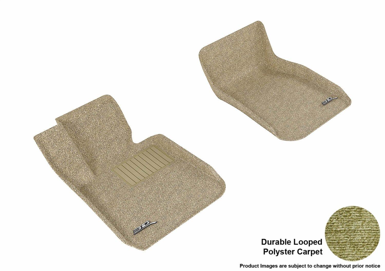 Tan L1BM03702202 Models Classic Carpet 3D MAXpider Complete Set Custom Fit All-Weather Floor Mat for Select BMW 3 Series F30