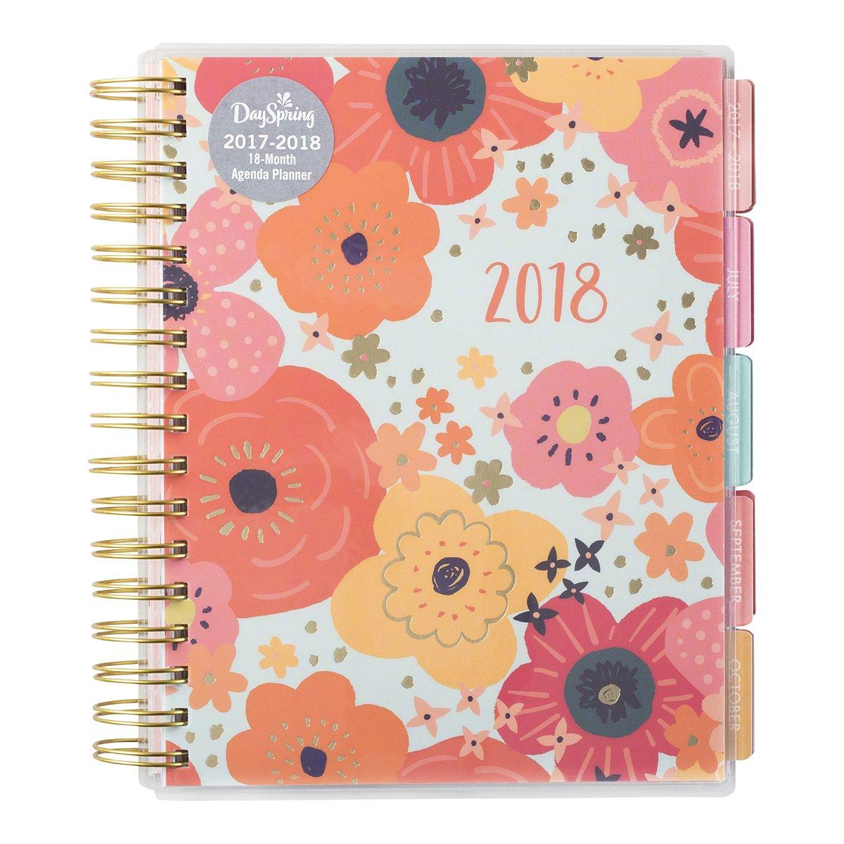 2018 Agenda Planner - Vintage Floral