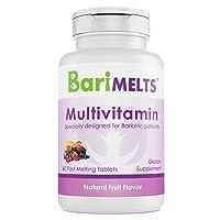 BariMelts Multivitamin, Dissolvable Bariatric Vitamins, Natural Fruit Flavor, 60...