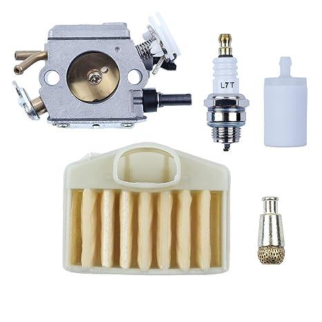 Amazon com: Haishine Carburetor Air Filter Fuel Oil Filter