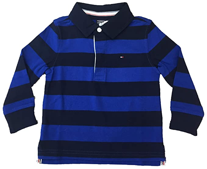 Tommy Hilfiger - Polo Stripe Manga Larga BEBÉ NIÑO: Amazon.es ...