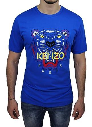 19b6304ccf4b Kenzo - T-shirt - manches courtes - Homme bleu bleu XX-Large  Amazon ...