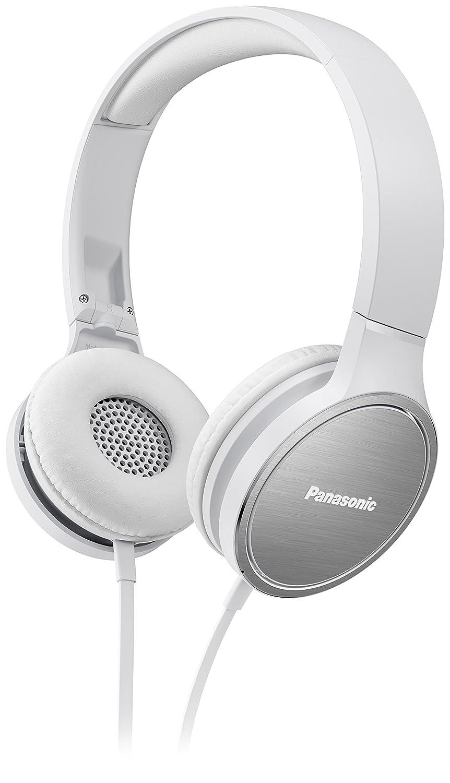 Colo Blanco 25 Ohm Panasonic RP-HF500ME Auriculares circumaural al/ámbrico 9-26000 Hz