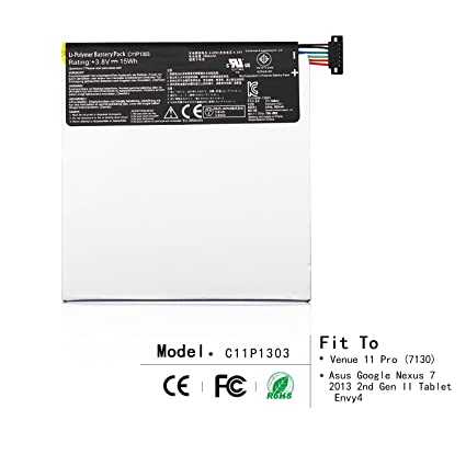 Amazon.com: ZWXJ Tablet Battery C11P1303 (3.8V 15Wh) for Asus Google on battery charger circuit diagram, battery to starter diagram, ignition diagram, battery generator diagram, battery switch diagram, battery for wind turbine, battery gauge wiring, battery schematic diagram, battery cables diagram, 12v battery diagram, battery parts diagram, earth battery diagram, johnson 9.9 parts diagram, 12 volt 4 battery diagram, battery wiring chart, motorhome battery diagram, a simple battery circuit diagram, how does a battery work diagram, battery system diagram, dual battery diagram,