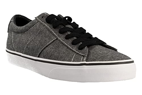 RALPH LAUREN Zapatilla 816-688480-004 Sayer Gris: Amazon.es: Zapatos y complementos