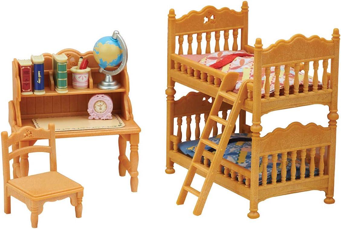Amazon Com Calico Critters Children S Bedroom Set Toys Games