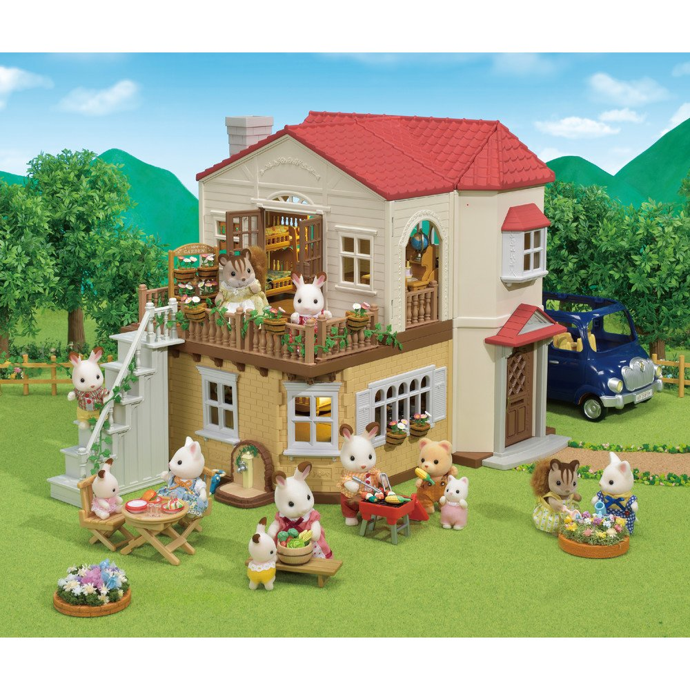Country Bump Kin Boutique Home: Calico Critters Red Roof Country Home Gift Set 20373217973