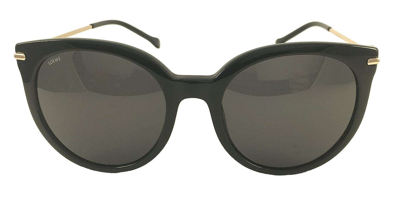 Loewe SLW946G580700 Gafas de sol, Shiny Black, 58 para Mujer ...