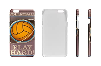 Funda Protectora Carcasa para IPhone 7 Plus Retro Voleibol: Amazon ...
