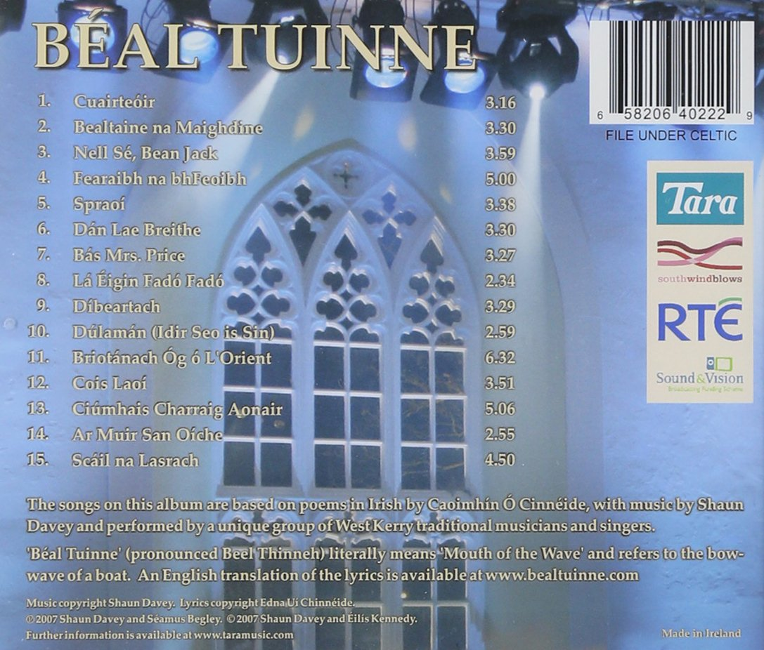 Beal Tuinne Live at St. James Church Dingle by Tara Music (Image #1)