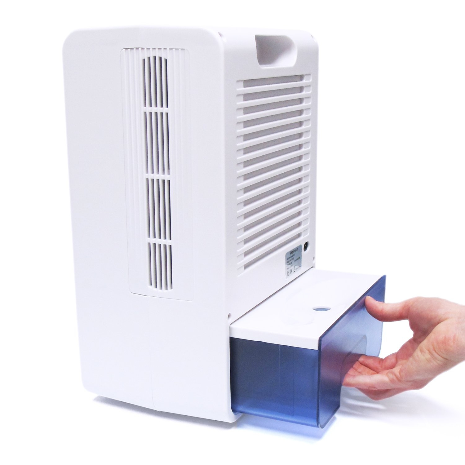 Pro Breeze Electric Mini Dehumidifier, 5 Pint, 5500 Cubic Feet - Perfect for Attics, Bedrooms, Bathrooms & Closets | Ultra Quiet Thermo-Electric Technology with Built in Humidistat by Pro Breeze (Image #3)