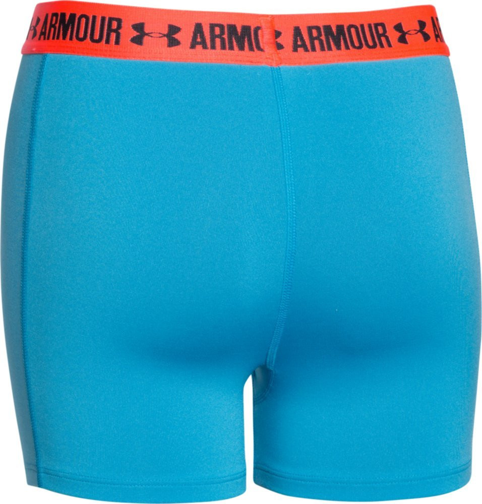 Under Armour Girls Shorty Girls Shorty Base Layer Youth//Medium Meridian Blue