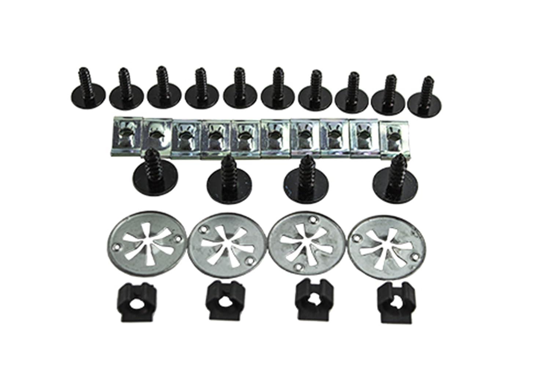 TarosTrade 29-0597-N-83630 Kit Per Fissaggio Copertura Motore
