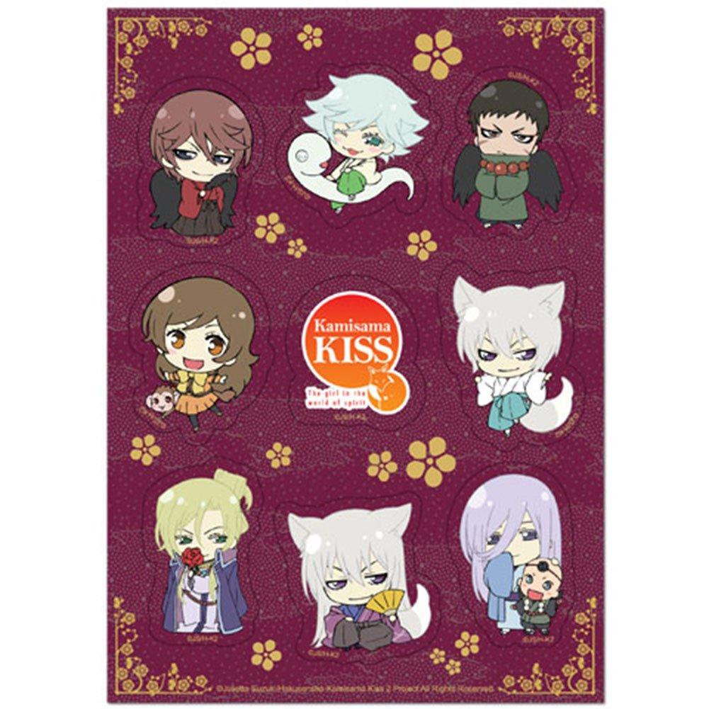 Kamisama Kiss Sticker Nanami Mizuki Season 2 Group Sticker Set Tomoe