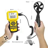 HOLDPEAK 846A Digital Anemometer for CFM with LCD