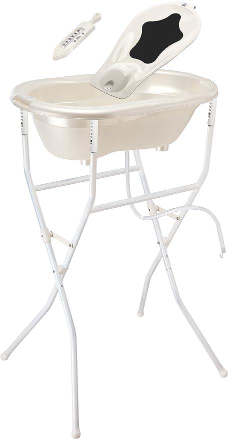 Rotho TOP Baby Badewanne perlweiß creme 20001-0100