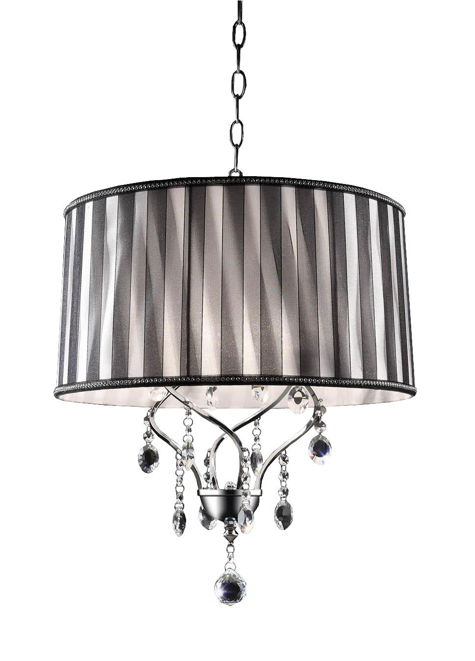 OK-5123H 21-Inch H Lady Crystal Ceiling Lamp by OK Lighting