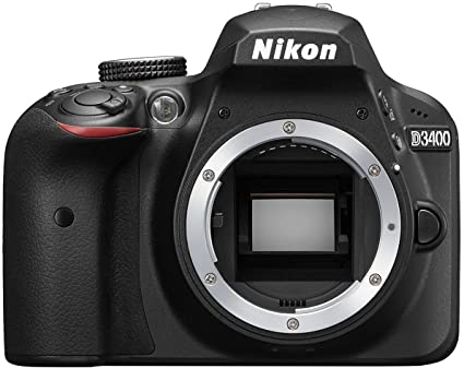 Nikon D3400 Digital Camera Body (Black) with Card and DSLR Bag Digital SLRs at amazon