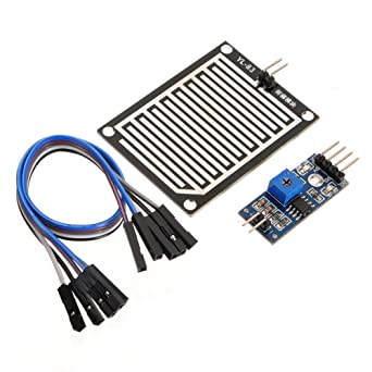 Demo Board & Accessories Raindrops Detection Sensor Modue Rain Weather Module Humidity For Arduino New