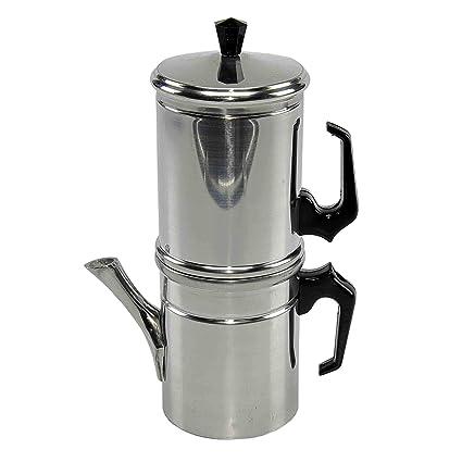 Ilsa Kaffeekocher Napoletana 6 Tassen Edelstahl
