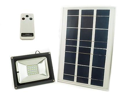 Bes faro faretto led smd w pannello solare energia