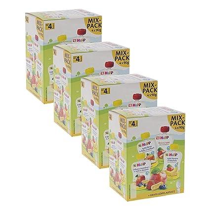 Joghurt und Babynahrun Apfelsauce duquanxinquan 10 St/ück Baby Lebensmittel Quetschbeutel Beutel Mit 2 L/öffel Squeeze Station Beutel Wiederverwendbar F/ür Quetschies