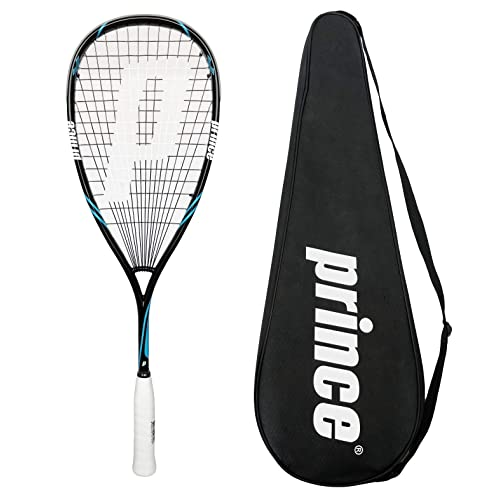 Prince SHARK POWERBITE 650 PRO Raquette de squash avec squashbag