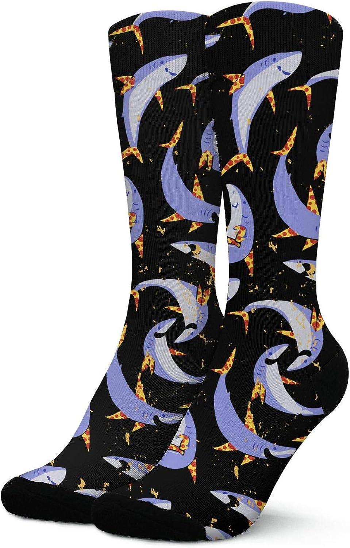 Womens Yellow Sloth Cute Athletic Crew Socks Thick Tube Socks Pattern Socks for Running,Fitness,Medical,Travel,Work