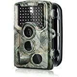 """Enkeeo PH760 Trail Game Camera 1080P 16MP HD Hunting Camera 47pcs 850nm IR Night Vision IP56 Water Resistant with 0.2s Trigger Time 2.4"""" LCD Screen"""