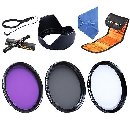 55mm UV CPL FLD - K&F Concept 55mm Filtro de Protección UV Filtro ...