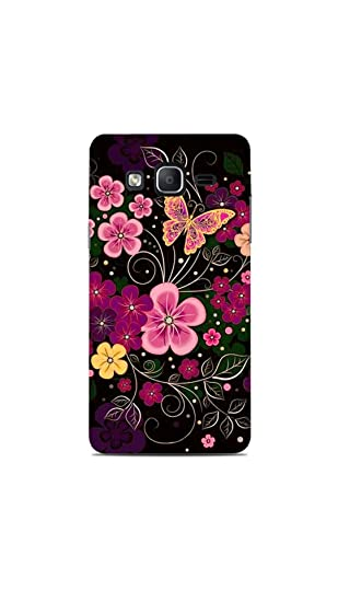 Print Station 5PRO 5239 Floral Design Printed Back Cover for Samsung Galaxy On 5 Pro Mobile Accessories