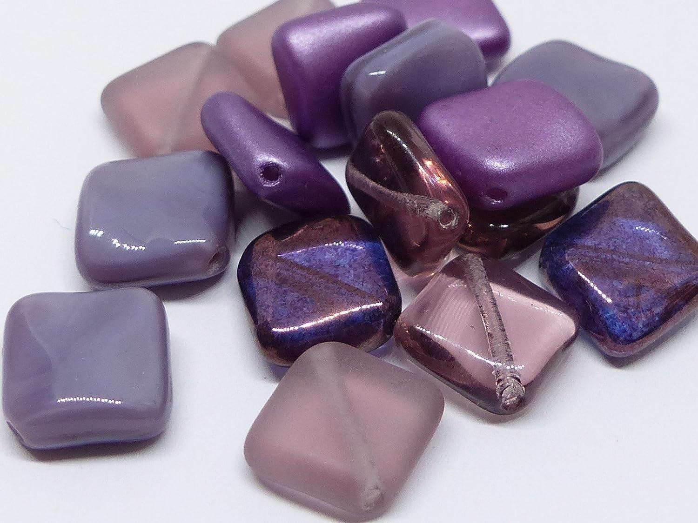 Czech Glass Bead Teardrop Beads Blue /& Gold 9mm Approx 40 Beads *UK  SHOP*
