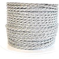 15 m x 4 mm Cordón de plata