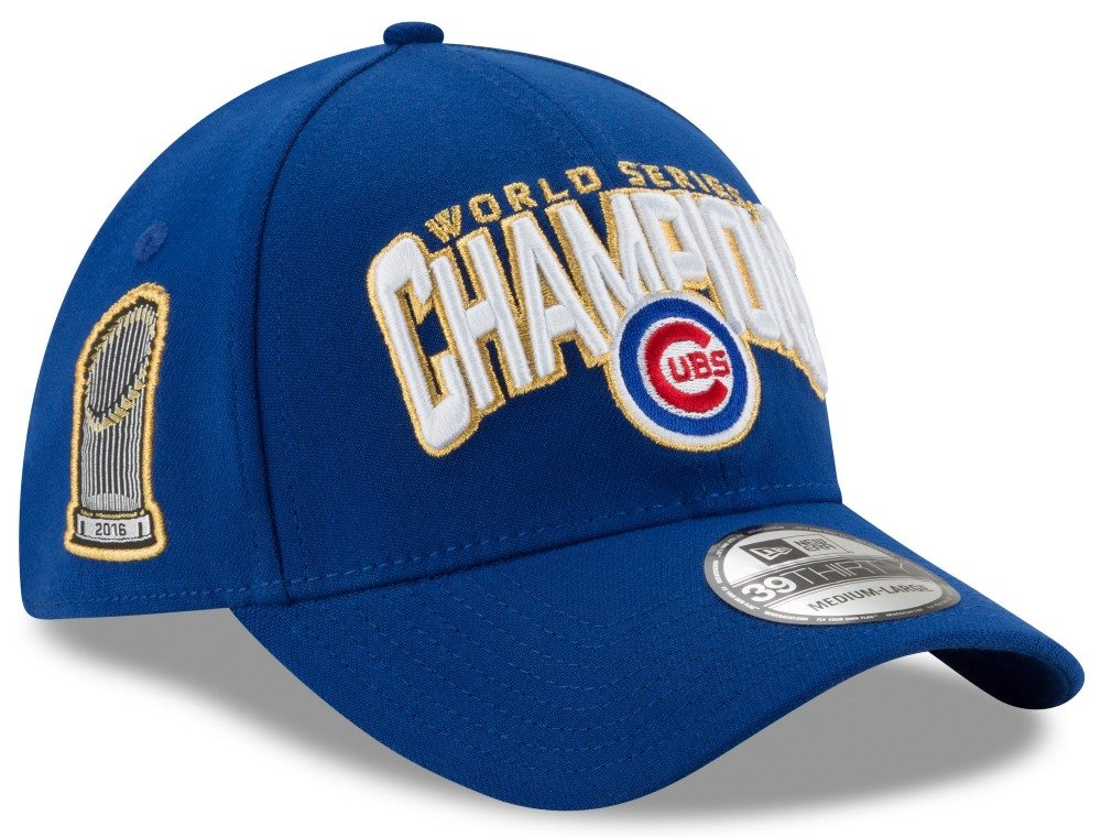 Chicago Cubs New Era 39THIRTY 2016 World Series Champions Locker Room Hat  Men s Hat 4e60cacc608