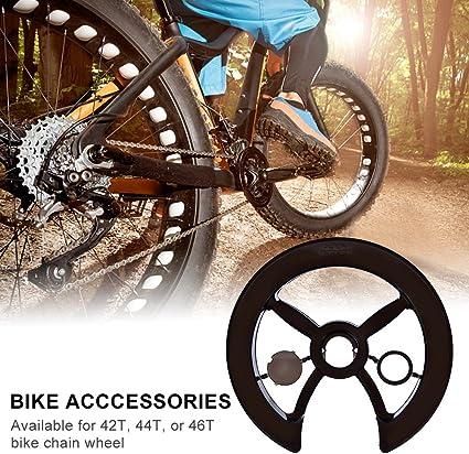 Tbest Cubierta de Protector de Cadena de Bicicleta Cubierta de ...