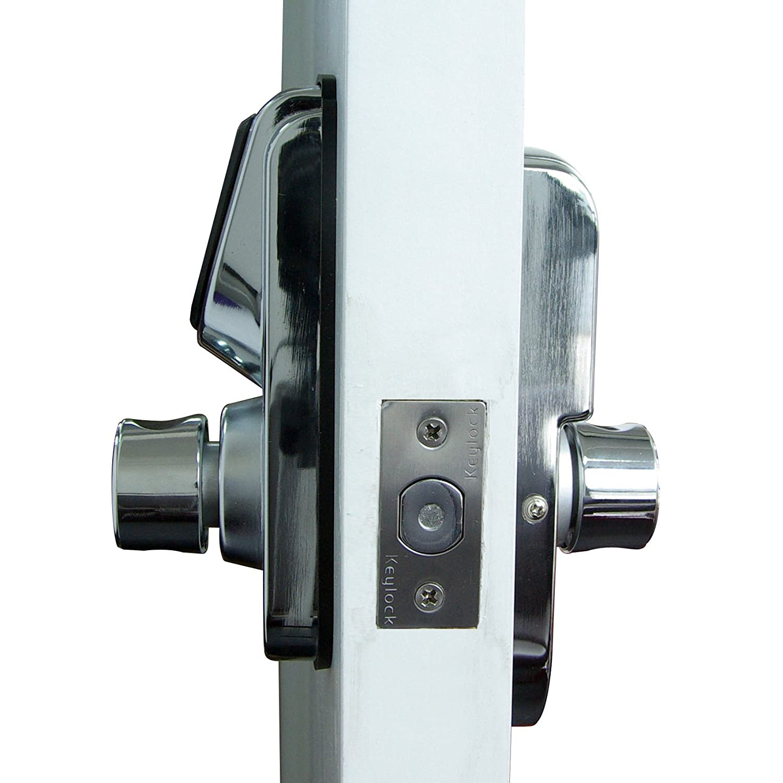 Cerradura inteligente para puertas, electrónica, pantalla táctil, sin motor, 6600 - 101 A plata: Amazon.es: Bricolaje y herramientas