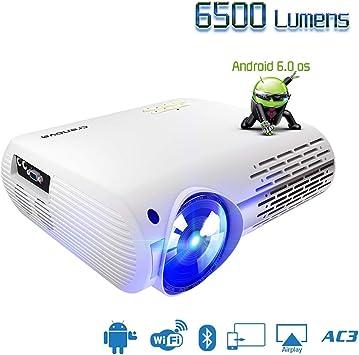 HD Proyector de Video for Full HD 4K * 2K Proyector de Cine en ...