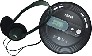 NAXA Electronics NPC-330 Slim Portable Cd and MP3 Player with FM Radio & Anti-Shock Technology