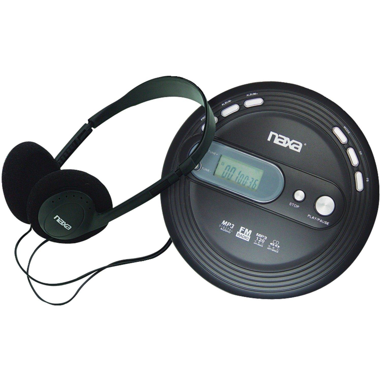 amazon com naxa electronics npc 330 slim portable cd and mp3 player